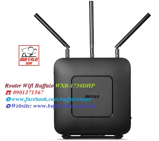 Router Wifi Buffalo WXR-1750DHP