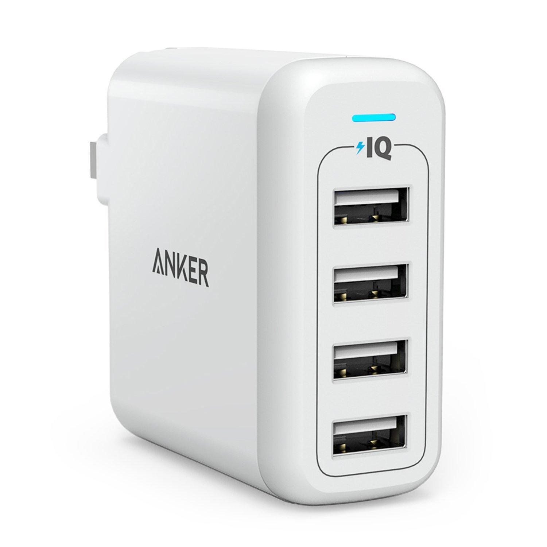 Sạc Anker 4 Cổng PowerPort 4, 40w - A2142