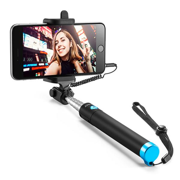 Gậy Chụp Ảnh Selfie có dây Anker - A7160