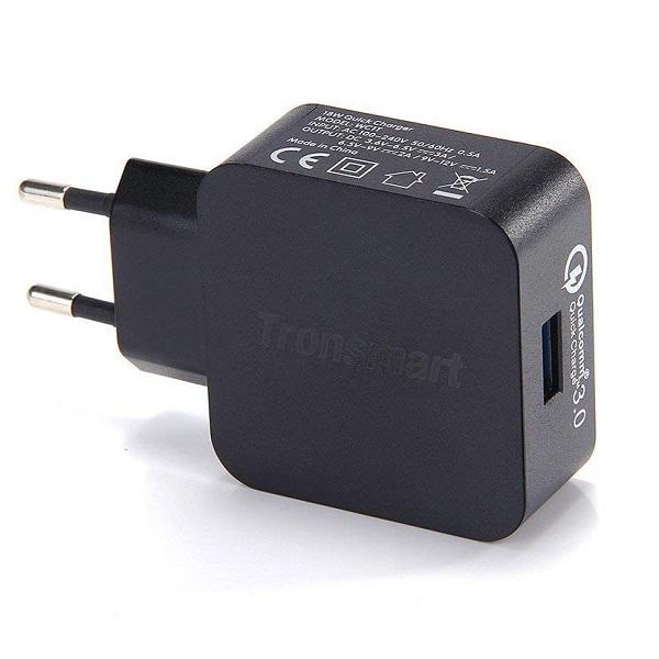 Sạc Tronsmart 1 Cổng 18w Quick Charge 3.0 - WC1T