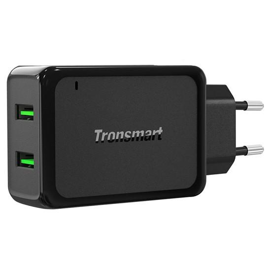 Sạc Tronsmart 2 Cổng 36w Quick Charge 3.0 - W2TF
