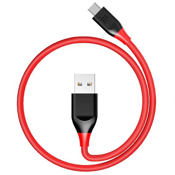 Cáp USB-C to USB 2.0 bện nylon kép dài 0.3m Tronsmart - ATC