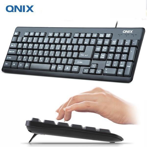 Bàn phím Tiếng Hàn Quốc QNIX QK-3000U