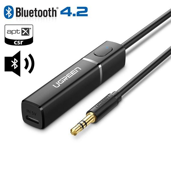 Bộ Phát Âm Thanh Bluetooth 4.2 Cho TIVI, PC, Laptop, Tivi Box...UGREEN 40761