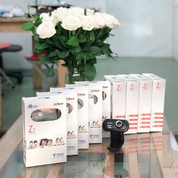 Webcam kèm Micro hỗ trợ học online Dahua Z2 chính hãng