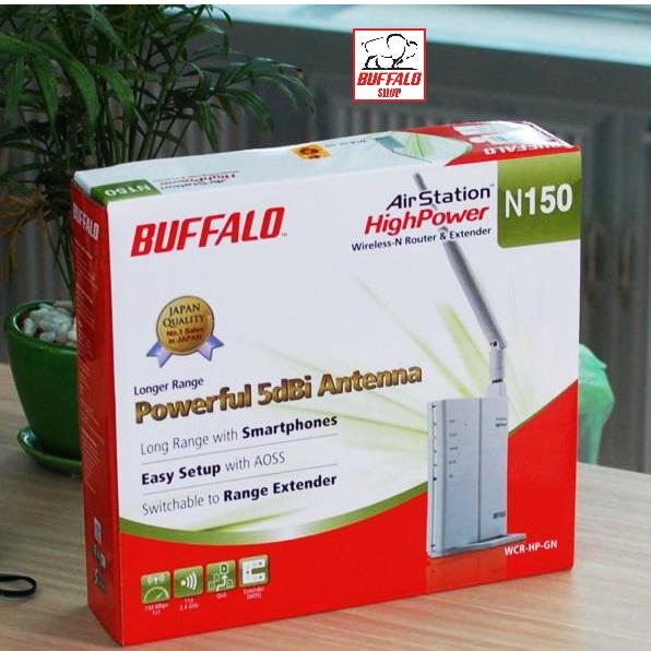 Hướng dẫn cấu hình cơ bản Wifi BUFFALO WCR-HP-G300