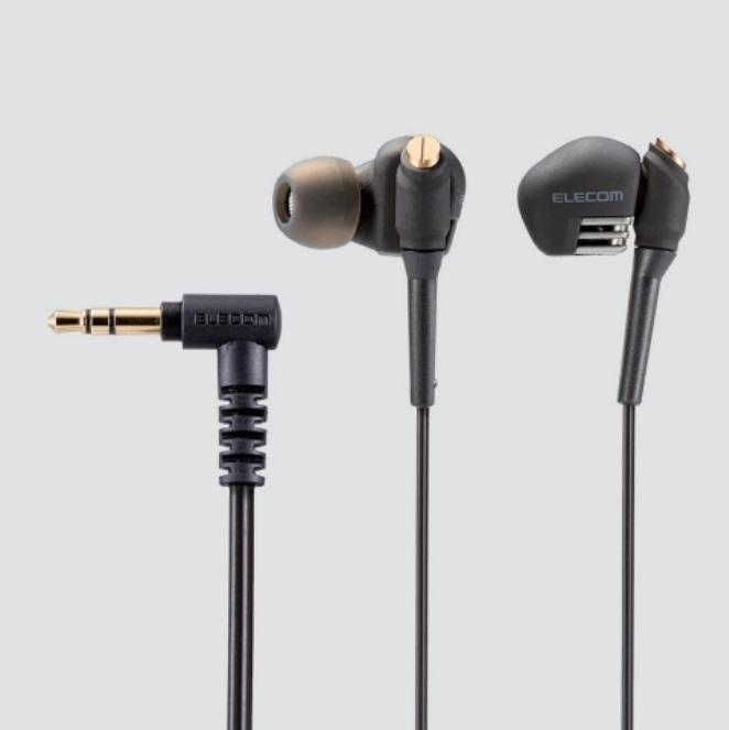 Elecom ra mắt bộ ba tai nghe inear thay máu cho dòng GrandBass mới